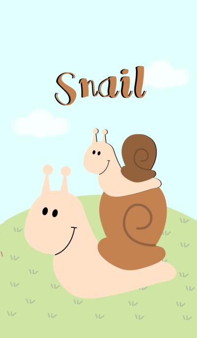 Cute Snail Theme