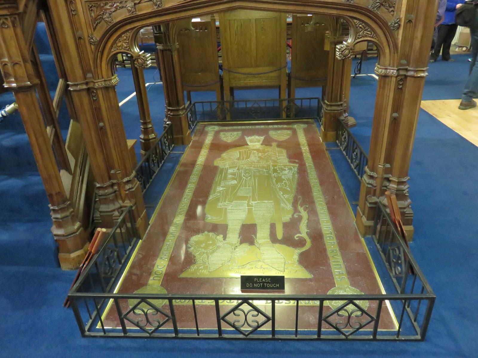 Resultado de imagen para Robert Bruce era enterrado en la abadía de Dunfermline