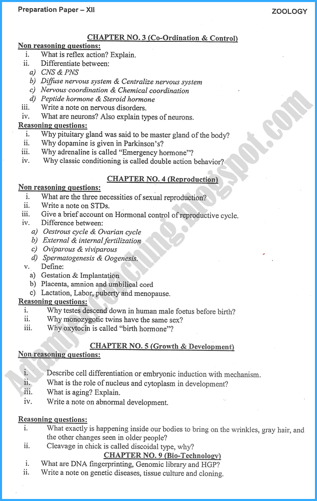 zoology-12th-adamjee-coaching-guess-paper-2018-science-group