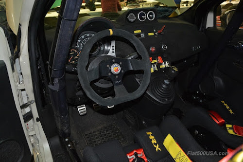 500 Abarth Mefistofele interior