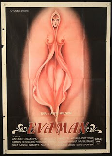 Eva Man Film poster with Eva Robins