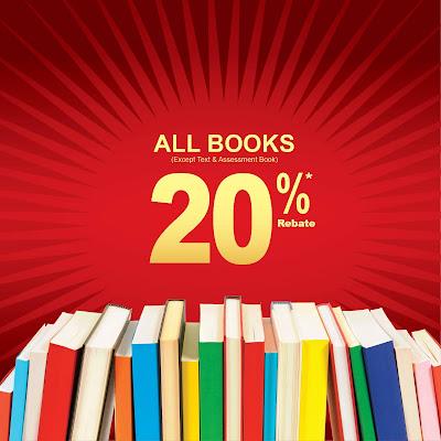 Popular All Books Rebate Discount Offer