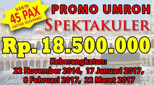 Harga Paket Umroh 2016 Super Murah Berkualitas