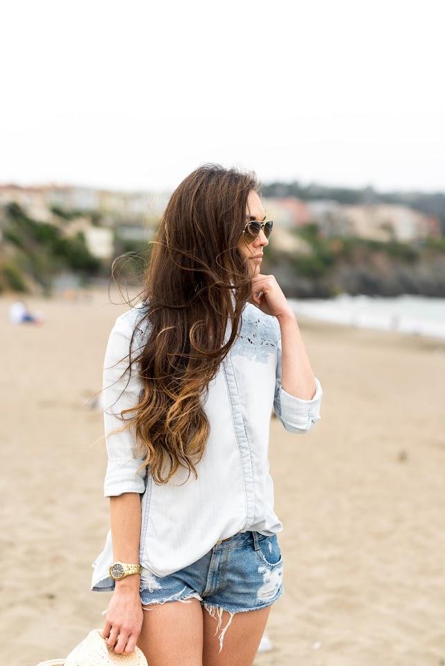 asian, brunette, black hair, korean blogger, lds, mormon, beauty, john frieda beach blonde sea waves