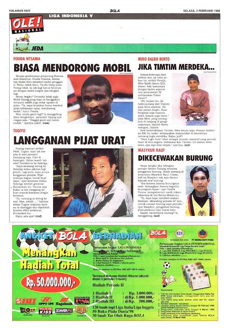 LIGA INDONESIA V: JEDA