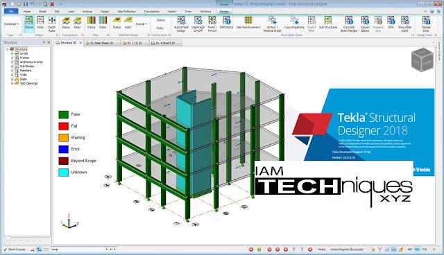 Tekla Structural Designer 2018