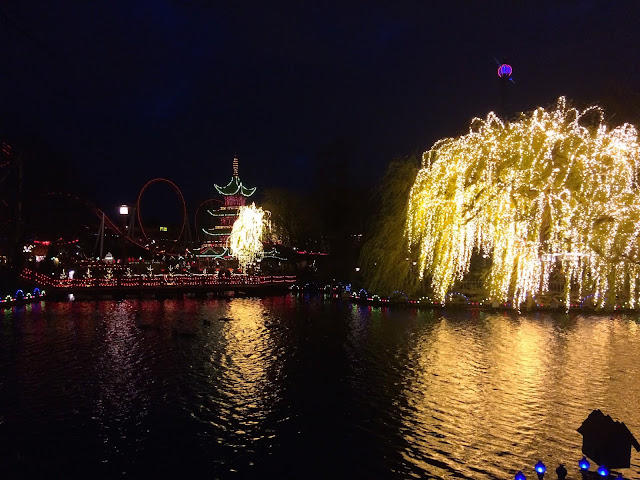 Copenhagen at Christmas - Tivoli Gardens
