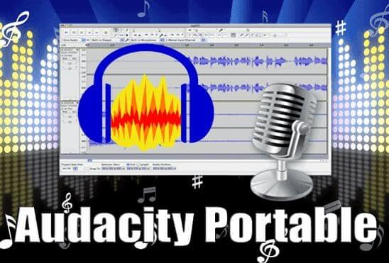 تحميل برنامج Audacity Portable عملاق تحرير وتسجيل الصوت واضافة التأثيرات نسخة محمولة للكمبيوتر