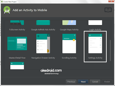 Add an Activity to Mobile Android Studio