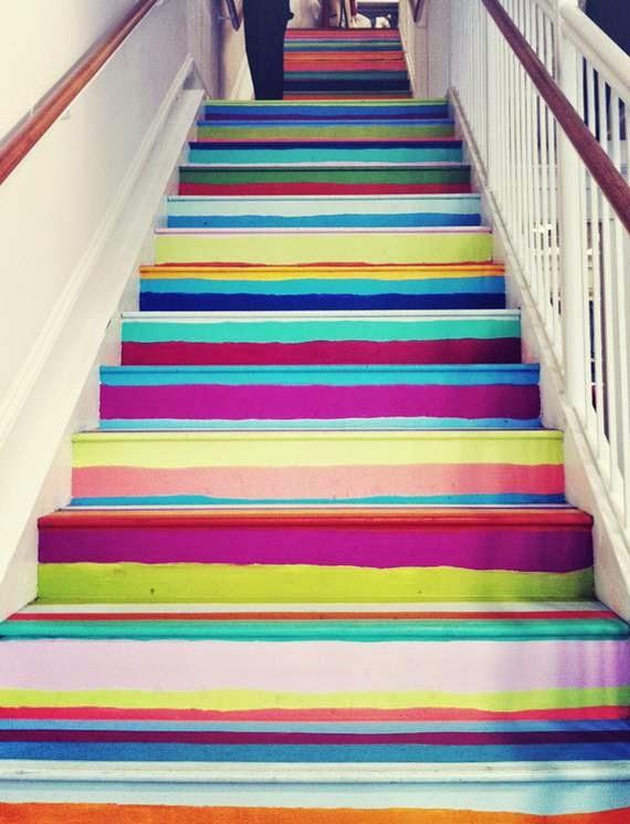 Decorar escalera