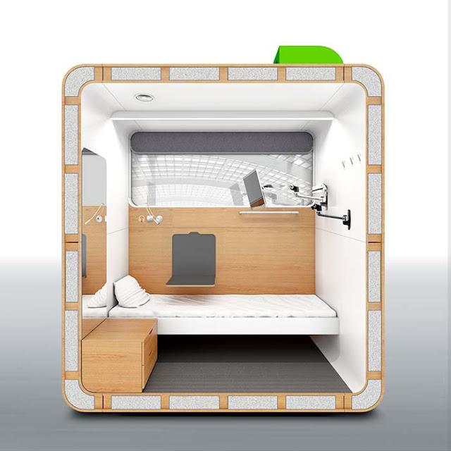 صندوق النوم, غرفة نوم صغير, مخيم خشبي, بيت خشبي صغير