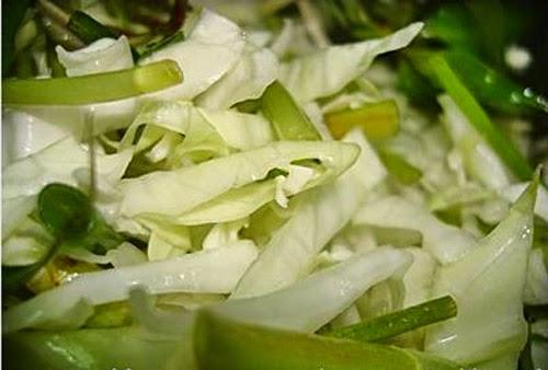 Cách muối dưa bắp cải rau cần ngon nhất