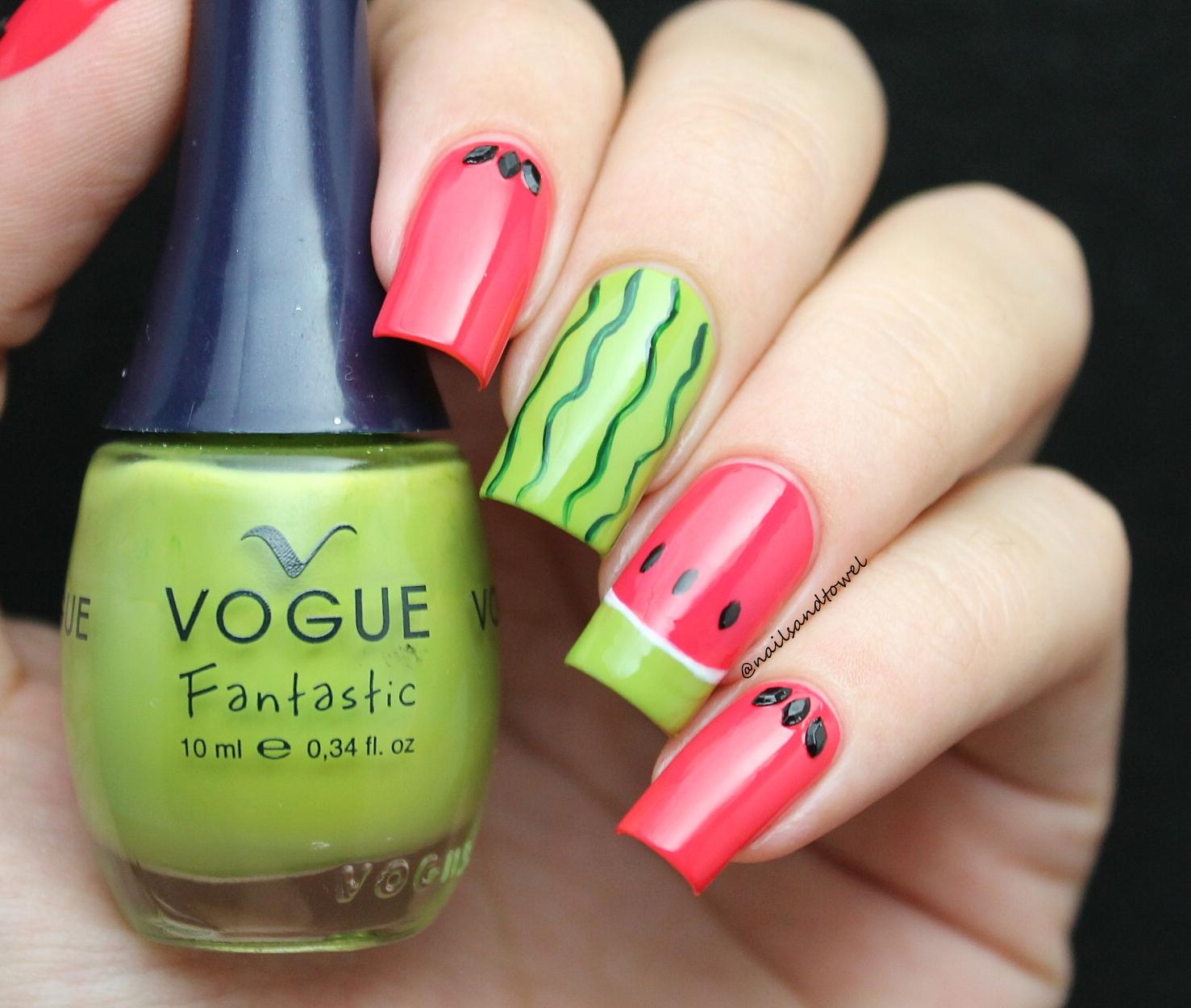 Perfecto Uñas Vogue Cresta - Ideas Para Esmaltes - aroson.com