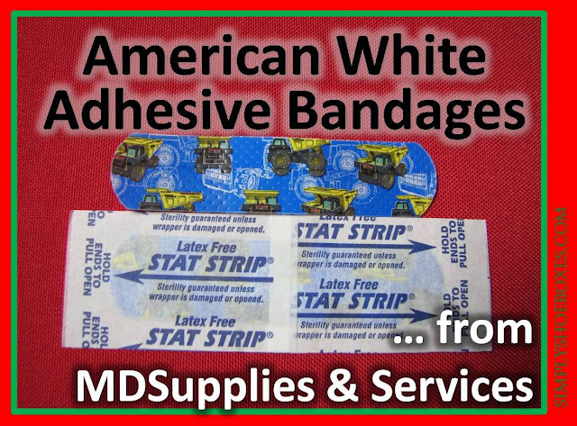 American White Cross Adhesive Bandages review.  Sold thru MDSupplies & Services.