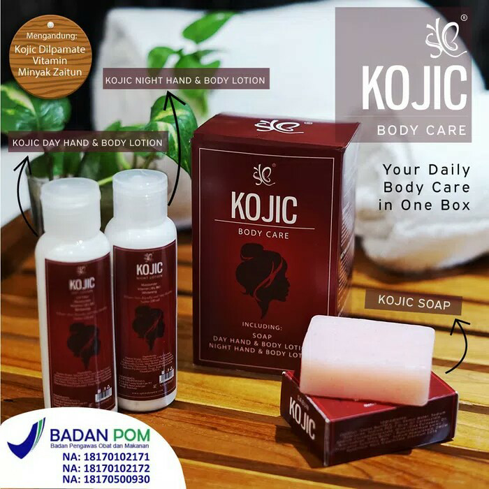 NEW Paket Kojic Body PKB BPOM