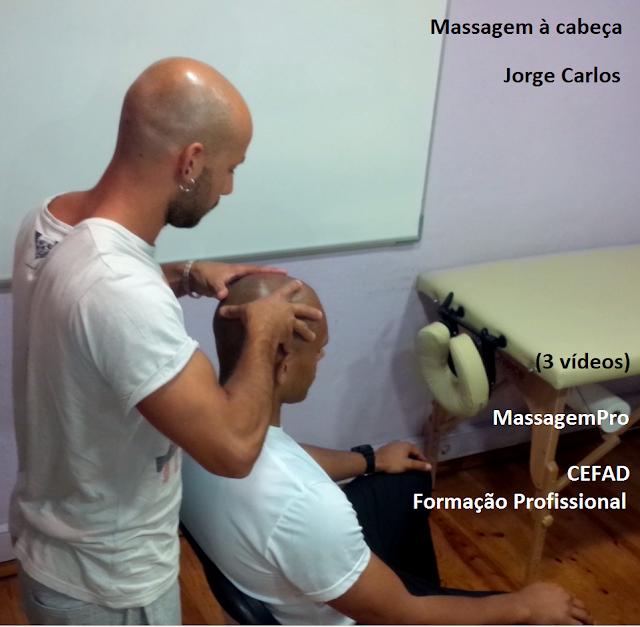 Massagem à cabeça por Jorge Carlos