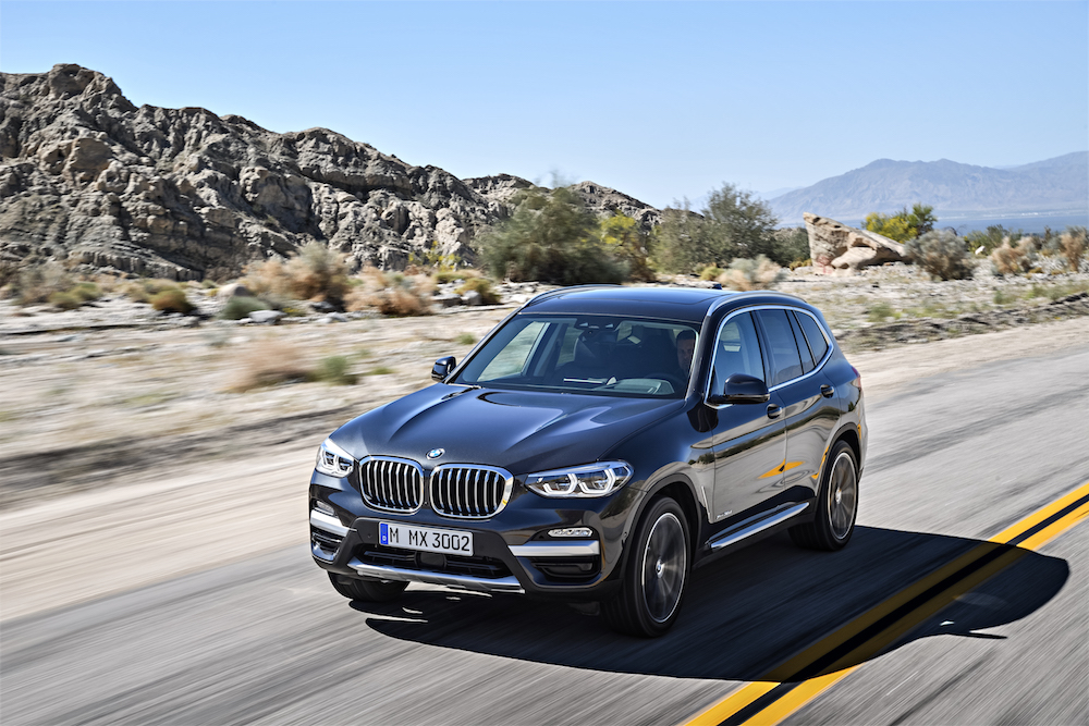 Listino Prezzi nuova BMW X3 2017