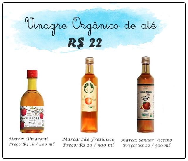 marcas de vinagre organico barato