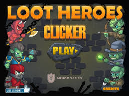 Loot Heroes: Clicker game