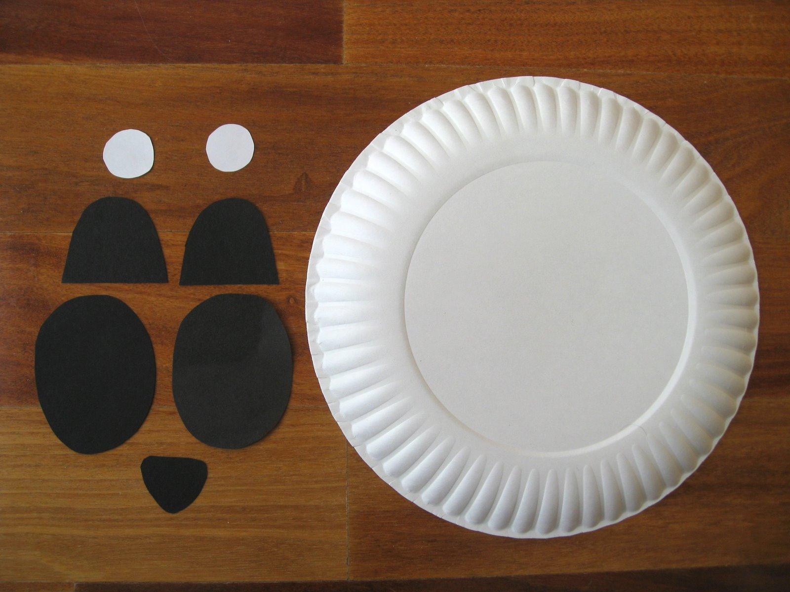 Paper Plate Panda & Cindy deRosier: My Creative Life: Paper Plate Panda