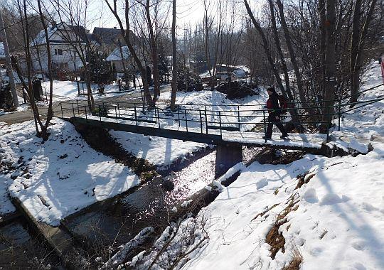 Potok Rdzawka.