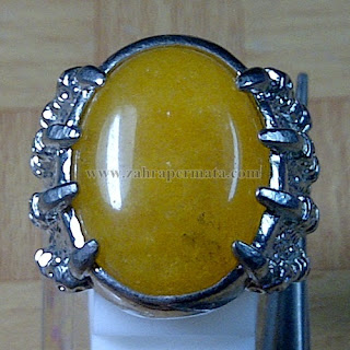 Cincin Batu Yellow Quartz - ZP 769