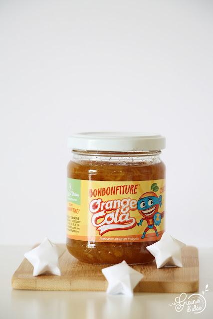 Bonbonfiture Pomme Caramel Orange Cola Fraise Candy Confiture Muroise Nantes Nouveauté