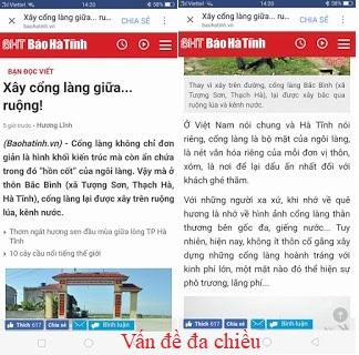 Chuyện cổng làng ở Hà Tĩnh trên mương nước
