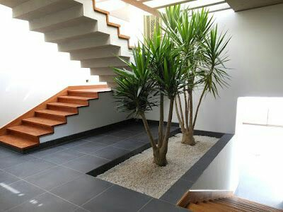 48 images of indoor staircase open space garden design ideas - Garden in small space collection ...