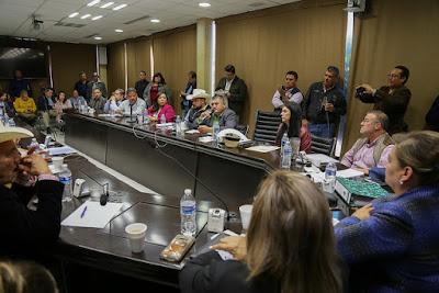 Legisladores dan seguimiento a solicitudes para el rescate financiero del ISSSTESON