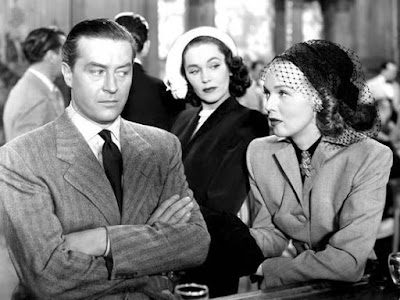 The Big Clock - Ray Milland, Maureen O'Sullivan, and Rita Johnson