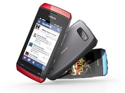 Nokia Asha 305 with Dual SIM