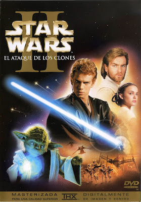 Star Wars: Episode II – Attack of the Clones [2002] [DVDR] [R1] [NTSC] [Latino]