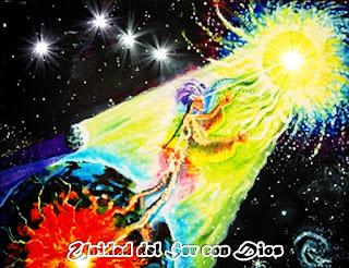 Todos ustedes son Dios en la forma hombre, a nivel interno sus Almas anhelan la Unidad de su Ser con Nosotros, mientras sus egos los distraen en búsquedas vanas en el exterior a través de las cosas, personas, poder, dinero, sexo, y más.