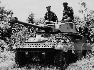 A Nigerian Army Panhard AML
