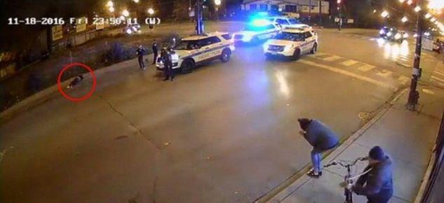 ΔΥΟ αστυνομικοί ΠΥΡΟΒΟΛΟΥΝ  έναν 26χρονο! ΔΕΙΤΕ το ΣΥΓΚΛΟΝΙΣΤΙΚΟ ΒΙΝΤΕΟ!