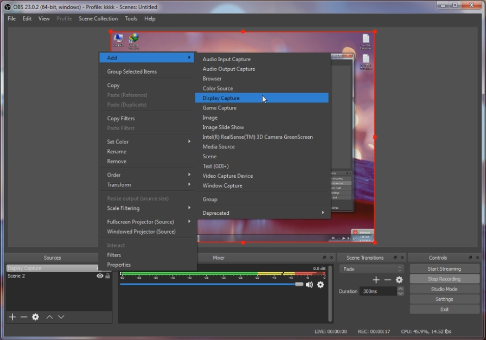 Free Pc Software: Pc Screen Recoder (OBS Studio) 100