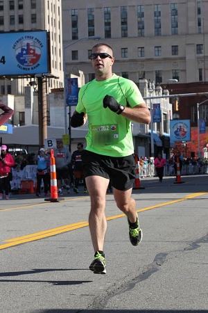 Nathan's first marathon