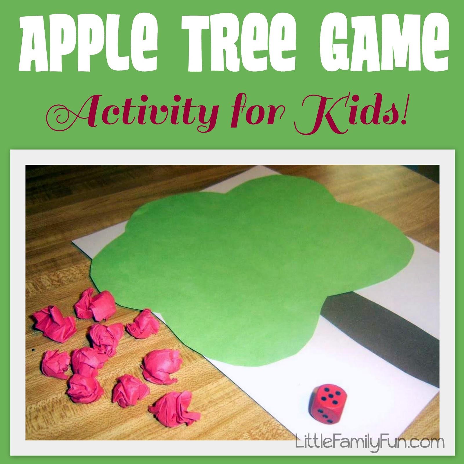 Little Family Fun Apple Tree Game