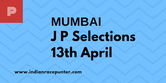 Mumbai Jackpot Selections 13th April