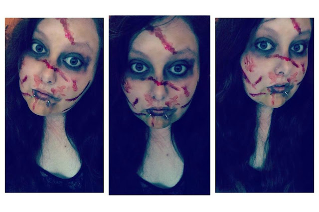 Exorcist Make Up Look