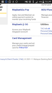Penukaran ATM/Kad Debit Maybank Secara Online