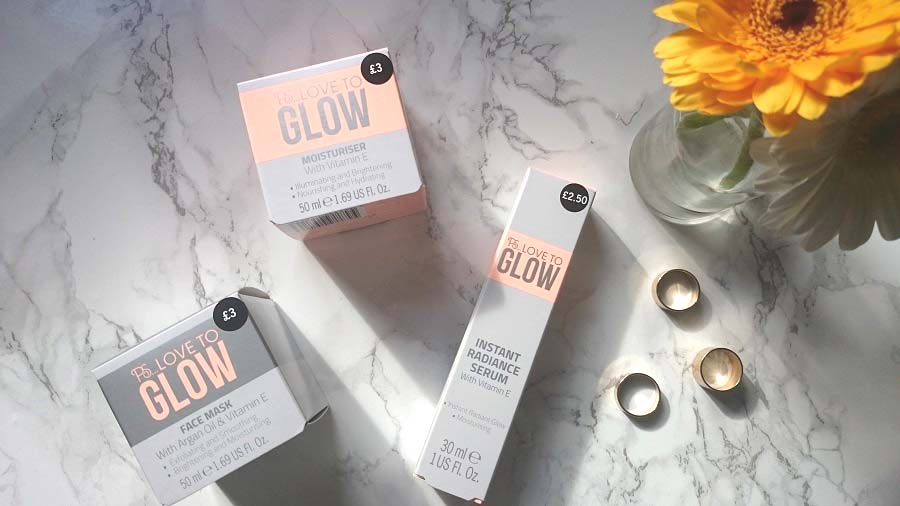 Beauty Blog Review, PS Love to Glow, Primark Skincare, Penneys skincare, Primark face mask