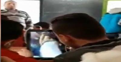 🔴عـاجـل طلاب يشاهدون فيديو رقص على التابلت داخل الفصل في وجود المعلم.. فيديو