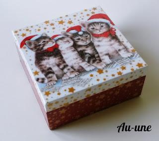 Świąteczne kociaki - wersja mini