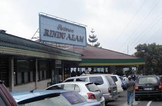 Restoran RIndu Alam - Puncak Bogor