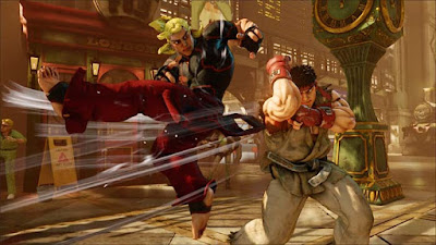 street fighter v ryu vs ken