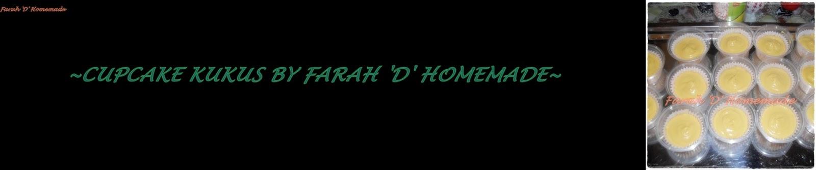 farahwahida961.blogspot.com: ~KEK CAWAN KUKUS BY FARAH 'D' HOMEMADE~