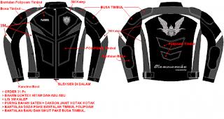 desain jaket touring