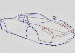 Como Desenhar Uma Ferrari Passo A Passo